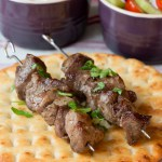 Greek Lamb Souvlaki Kebabs