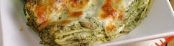 Green Lasagna w/ Spinach