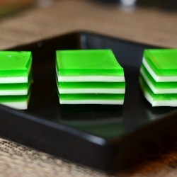 Green Layer Jello
