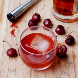 Grilled Cherry Old Fashioned