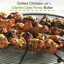 Grilled Chicken with Cilantro Lime