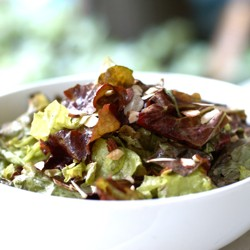 Healthy and Simple Green Salad
