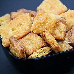 Homemade Cheez It Crackers