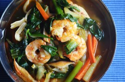 Jjamppong Korean Chinese Seafood Noodle Soup Recipe