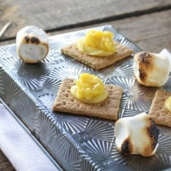 Lemon Lime Meringue S'mores