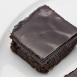 Licorice Brownies with Licorice