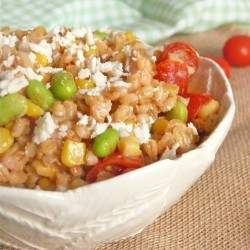 Light Cold Barley Salad Recipe