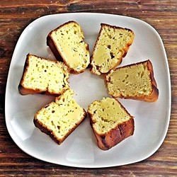 Lightened Lemon Pound Cake