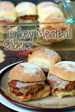 Make-Ahead Turkey Meatball Sliders