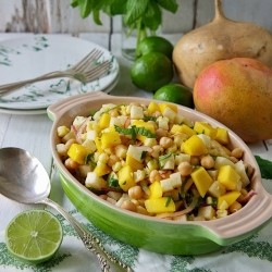 Mango Jicama Corn Salad Recipe