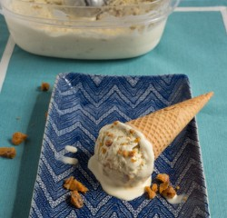 Maple Bacon Brittle Ice Cream
