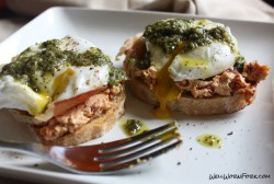 Mediterranean Poached Egg On Toast