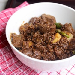 Mutton Liver Curry