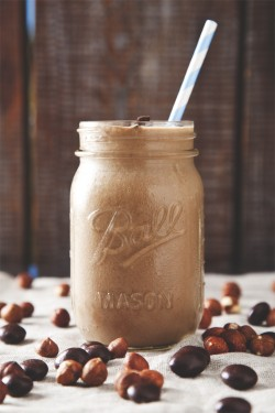 Non-Dairy Nutella Smoothie