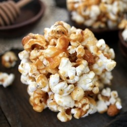Orange Honey Caramel Corn
