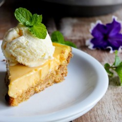 Passion Fruit Pie