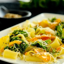 Pasta with Winter Vegetables