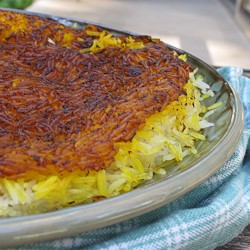 Persian Crispy Rice