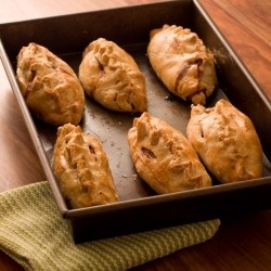 Pheasant juniper berry and thyme Pasty
