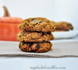 Pumpkin Chocolate Chunk Cookies Recipe