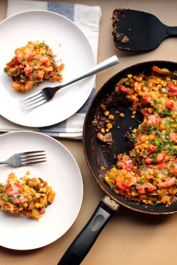 Quinoa Black Bean Skillet Recipe