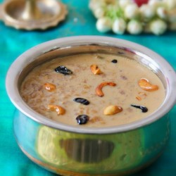 Red Aval Payasam in Jaggery