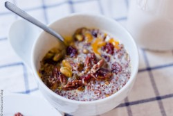 Red Quinoa Porridge
