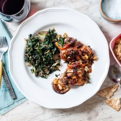 Roasted Chicken with Blood Orange