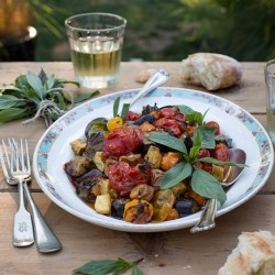 Roasted Vegetables with Harissa