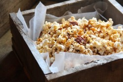 Salted Maple Pecan Caramel Corn