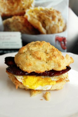 Sausage Egg Cheese Biscuit