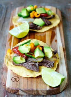 Slow Cooker Beef Tostadas Recipe