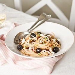 Spaghetti with Olives