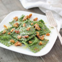 Spinach Ravioli with Ricotta