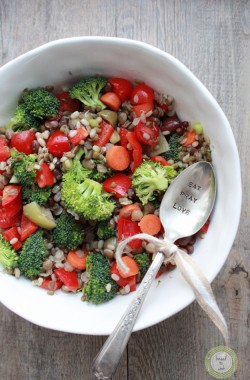 Sprouted Bean Vegetable Salad