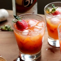 Strawberry and Passion Fruit Cachaca Recipe