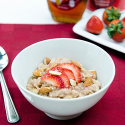 Strawberry Oatmeal Delight