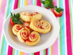 Strawberry Palmiers