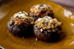 Stuffed MIni Portobello Mushrooms