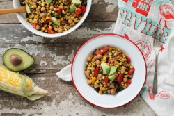 Summer Corn Succotash