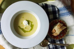 Sweet Corn Soup with Ricotta Recipe