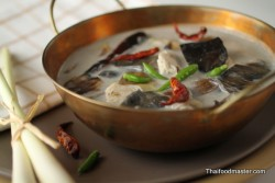 Thai Fresh Coconut Milk Tom Yam Soup