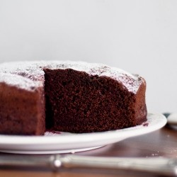 The Fluffiest Chocolate Cake