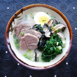 Tonkotsu Ramen with Chashu Pork Recipe
