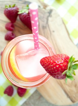 Triple Berry Infused Vodka Lemonade