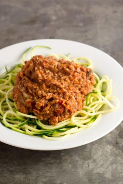 Vegetable Bolognese