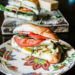Vegetarian Sub Sandwich Recipe