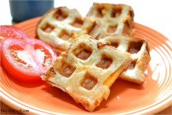 Waffle Iron Grilled Cheese