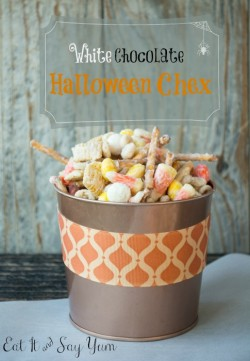 White Chocolate Halloween Chex