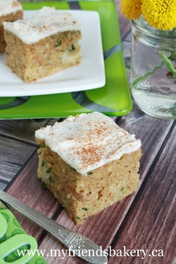 Zucchini Cake with Cream Cheese Icing Recipe